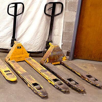 Pallet Jack Uline H-1779 70 Forks 26.5 Wide 7.5 Lift 3300lb Capacity Used