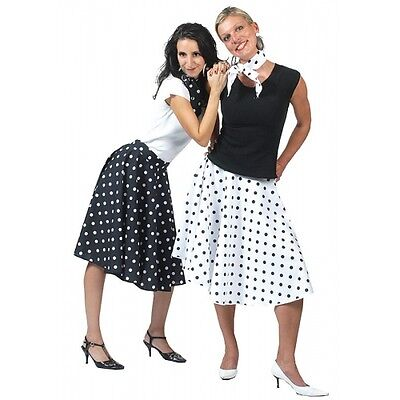 Rock 'n' Roll Skirt in Black, 1950's & 1960's, Music, Dances, Parties - 1960's Dance Kostüm