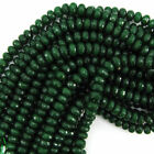 Jade Faceted Loose Stone Beads