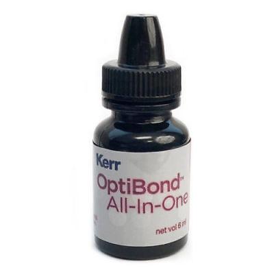 5 X Kerr Optibond All In One Self Etch Dental Adhesive Bonding Agent 6ml