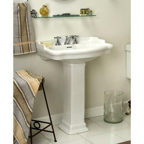small pedestal bathroom sinks small pedestal sink ebay 20556