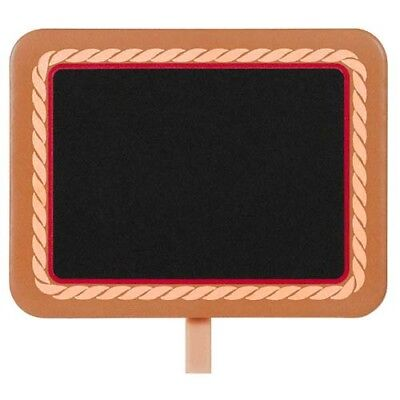 WESTERN Yeehaw CHALKBOARD FOOD LABEL CLIPS (8) ~ Birthday Party Supplies Country