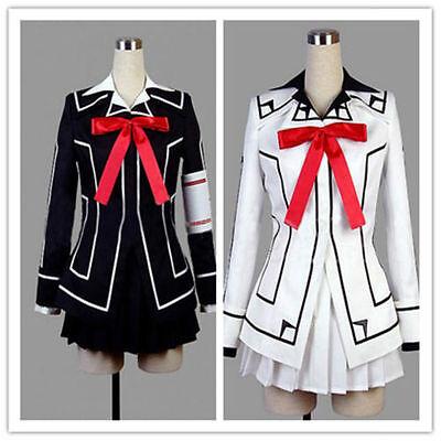 HOT!!! Vampire Knight Cosplay Costume Yuki Cross White or Black Womens Dress - Hot Vampire Woman