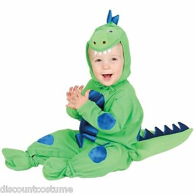 ADORABLE LITTLE DINOSAUR INFANT HALLOWEEN COSTUME 6-18 MONTHS OLD
