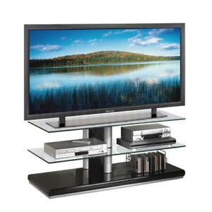 TECH CRAFT GS48B PEDESTAL STYLE FLAT PANEL TV STAND-Mint