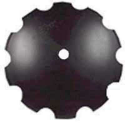 Disc Blade 22 Notched Edge 316 Thickness 1-12 Round Axle