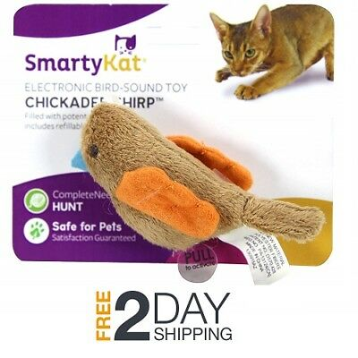 Chirping Cat Toys - Toy for Cats With Sound Electronic Sound Cat Toys SmartyKat