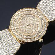 Ladies Crystal Bracelet Watch