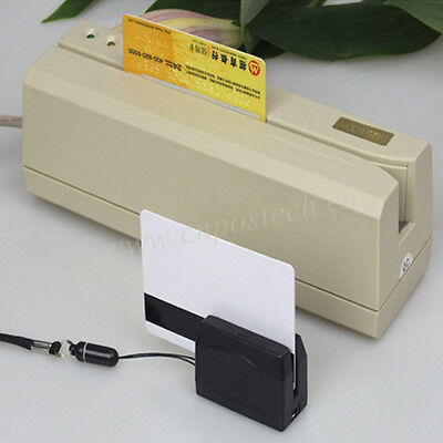 New Portable Dx3 Mini300 Bundle Msr609 Magnetic Card Reader Writer Loction-us