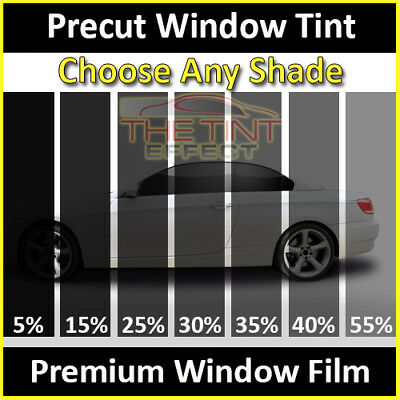 Fits 2016-2020 Nissan Titan Crew Cab (Rear Car) Precut Window Tint Premium Film
