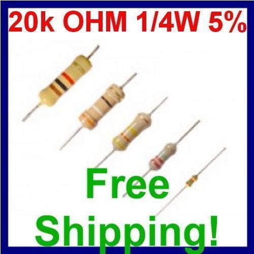 20k Resistor Ebay