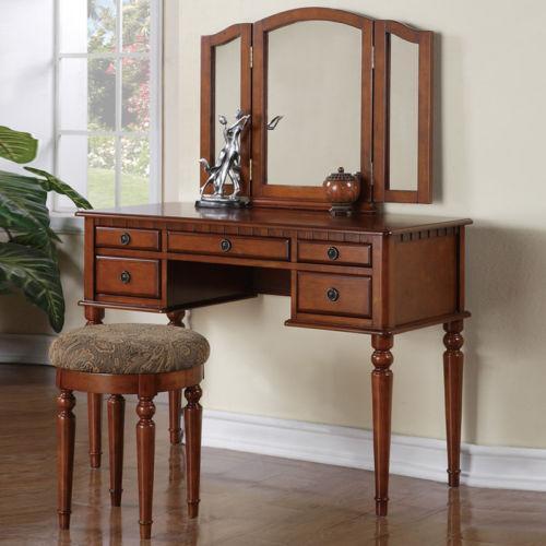 Wood Vanity Table Ebay