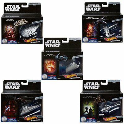 Hot Wheels Star Wars Commemorative Starships Set of 5 - BRAND NEW