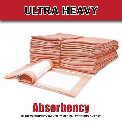 100 30 X 36 Inch ULTRA HEAVY Absorbency Underpads, Adult Disposable Polymer Pads