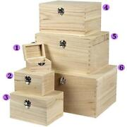 Plain Craft Boxes