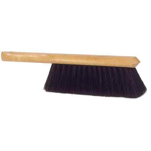 "Weiler 44351 9"" Counter Duster, Horsehair Fill, Fine Brushing"