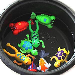 Paddle Wash Bath Bathing Toy Wind-up Animals Toys Christmas Gift for Kids USA