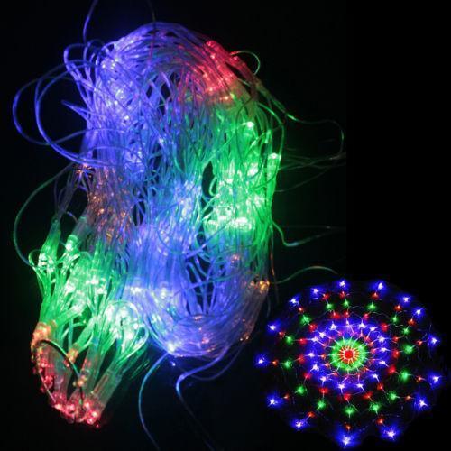 outdoor christmas net lights ebay