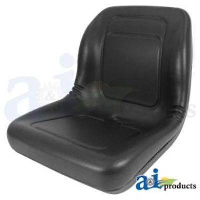 Compact Tractor Skid Steer Loader Utv Lawn Garden Mower Seat - Black Lgt100bl