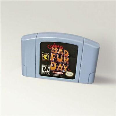 Conkers Conker's Bad Fur Day For 64 Bit Game Cartridge USA Version NTSC Format comprar usado  Enviando para Brazil