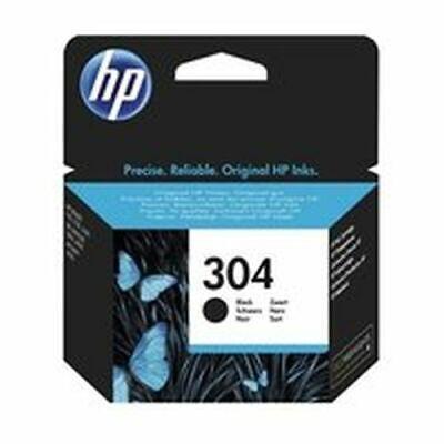 CARTUCCIA HP 304 ORIGINALE BLACK NERO INK-JET PER HP Deskjet 3720, 3730, 3732