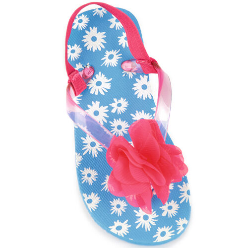 991bdc9c2 TODDLER INFANT GIRLS FLORAL BUTTERFLY SUMMER SANDALS FLIP FLOPS ...