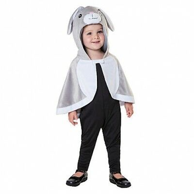 Hooded Rabbit Cloak Totally Ghoul Costume Child One Size fits Most