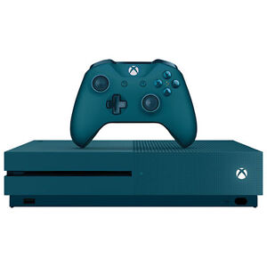 NEW Xbox One S 500GB Limited Edition Console - Blue