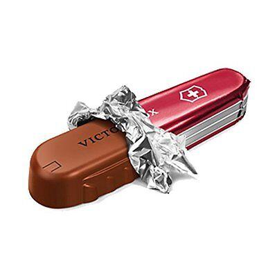 Schweizer Schokoladen Taschenmesser 28g Swiss Chocolate Knife