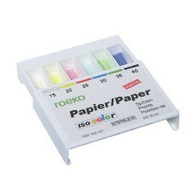 Coltene Roeko 340230 Dental Paper Points Tips Color Coded Iso Size 30 200pk