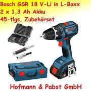 Bosch Akkuschrauber 18V 3Ah