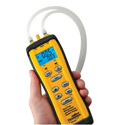 Fieldpiece Sdmn6 Dual Port Manometerpressure Tester