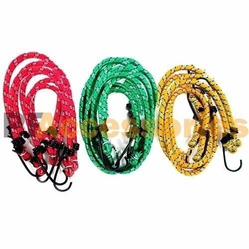 "30 Pcs Bungee Cord Strap Standard Tarp Bungie Elastic Tie Down Set 10"" 12"" 18"""