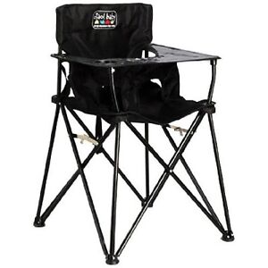 Ciao Baby Portable High Chair-Black