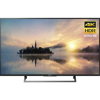 Sony 49  4K Ultra Hd Hdr Smart Led Tv 2017 Model With 3 X Hdmi   3 X Usb Input