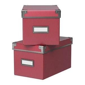 cd storage box ebay. Black Bedroom Furniture Sets. Home Design Ideas