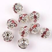 Crystal Spacer Beads 8mm