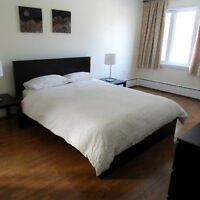 Furnished condo apartment - 3 bedrooms - close to airport