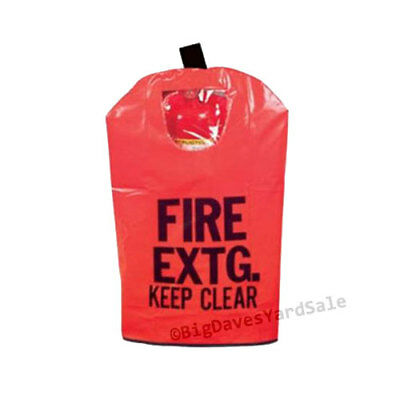 Lot Of 10 Covers Fire Extinguisher Covers With Window For 10 To 20lb Extg.