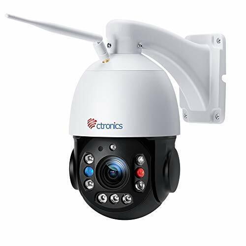 【5MP 30X Zoom】 PTZ Security Camera Outdoor, Ctronics Wifi CCTV Camera