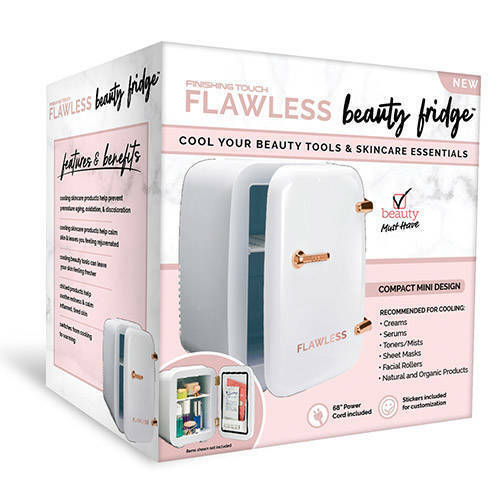 Finishing Touch Flawless Beauty Mini Fridge for Makeup and S