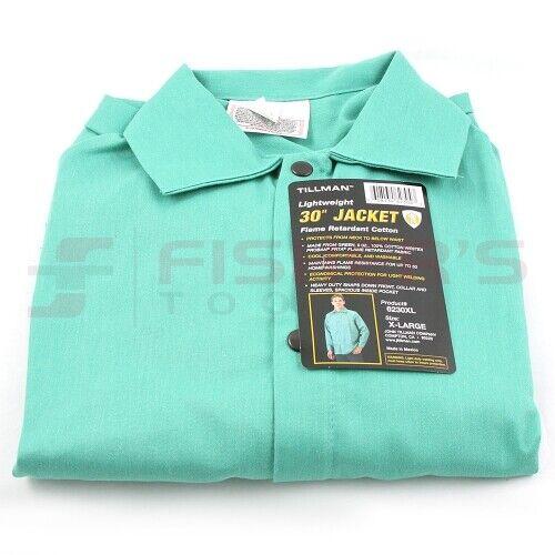 Tillman - Light Duty Welding Jacket - Green (M, L, XL, XXL, and XXXL)