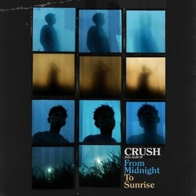 Crush-[From Midnight To Sunrise]2nd Album CD+Booklet K-POP Sealed R&B Soul Music