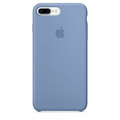 Original Apple Phone Case for iPhone 7 Plus Silicone Azure Genuine Item