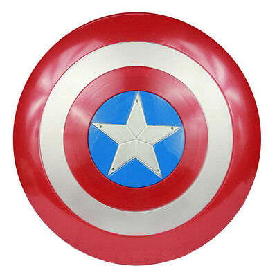 Marvel the Avengers Captain America 1:1 Shield with LED light & Soud Collectible - Captain America Shields