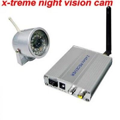 WIRELESS SECURITY HOME CAMERA WITH 30 IR LED NIGHT VISION TO SEE BETTER IN