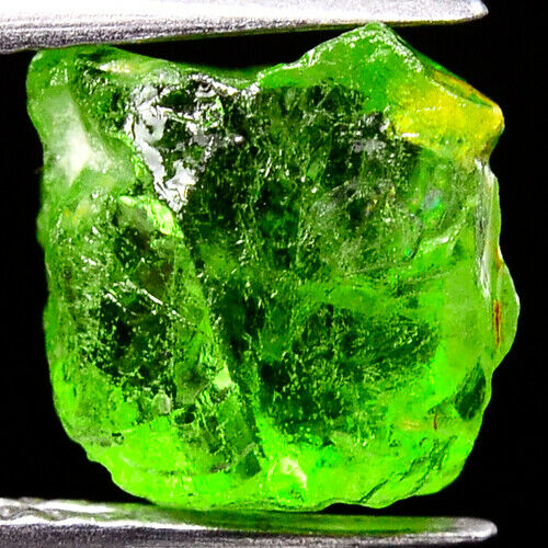 TOP IF FLAWLESS 4.50ct UNHEATED PERIDOT ROUGH NATURAL100% FACET NR!