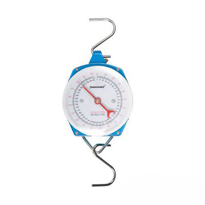 Silverline 251087 Hanging Weighing Scales Heavy Duty Metric and Imperial 200kg