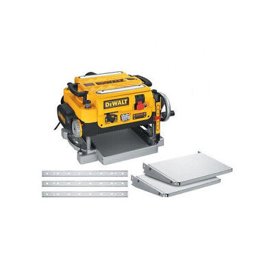 DEWALT DW735 Two-Speed Thickness Planer Package 13in Benchto