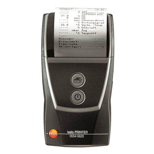 Testo 0554 0621 Bluetooth/IRDA Thermal Printer for 320/324/330/330i